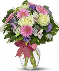 Roses, Gerberas and mixed Flowers